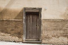 деревянное двери нутряное Стоковые Фотографии RF