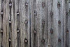 деревянное двери нутряное Стоковые Изображения