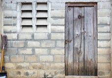 деревянное двери старое Стоковая Фотография RF