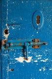 деревянное двери старое Стоковая Фотография