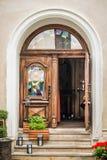 деревянное двери старое Стоковые Изображения RF