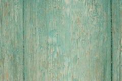 деревянное голубой двери старое Стоковая Фотография