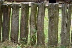 деревянное загородки старое Стоковые Фотографии RF