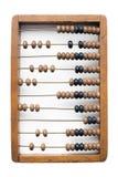 деревянное изолированное абакусом белое Стоковая Фотография RF