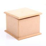 деревянное коробки коричневое Стоковая Фотография