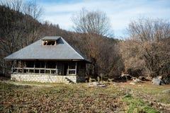 деревянное коттеджа старое Стоковое Фото
