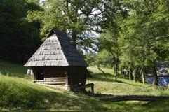 деревянное дома малое Стоковые Фото