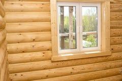 деревянное дома нутряное Стоковое Изображение