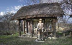 деревянное дома старое Стоковое Изображение