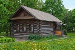 деревянное дома старое Стоковые Изображения RF