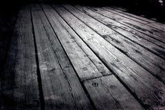 деревянное пола старое Стоковое Изображение RF