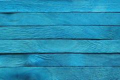 деревянное предпосылки голубое Стоковые Изображения
