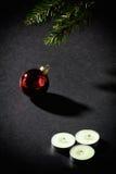 деревянное украшений рождества экологическое Стоковые Изображения RF