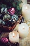 деревянное украшений рождества экологическое Стоковое Фото