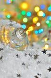 деревянное украшений рождества экологическое Стоковая Фотография