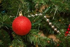деревянное украшений рождества экологическое Стоковое Изображение RF
