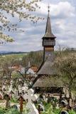 деревянное церков старое Стоковые Фото