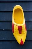 деревянный clog, традиционные голландские ботинки Стоковые Фото