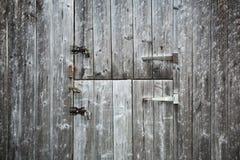 2 деревянных двери Стоковое Фото