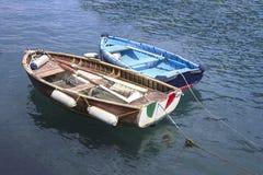 2 деревянных корабля Стоковое Фото