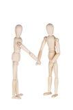 2 деревянных куклы Стоковые Фото
