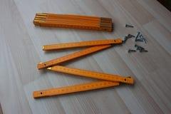 2 деревянных метра Стоковая Фотография RF