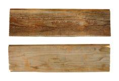 2 деревянных планки Стоковая Фотография