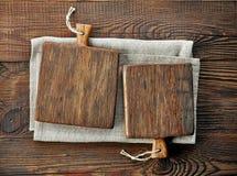 2 деревянных разделочной доски Стоковая Фотография