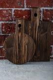2 деревянных разделочной доски Стоковая Фотография RF