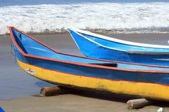 2 рыбацкой лодки Стоковые Изображения