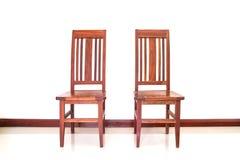 2 деревянных стуль Стоковые Фотографии RF