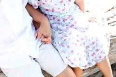держать рук детей Стоковое Фото