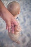 держать рук Стоковые Фото