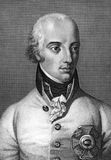 Ерц-герцог Charles, Duke Teschen стоковые фото