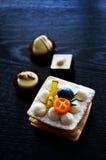 десерты вкусные стоковая фотография