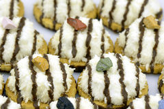 десерт печений кокоса сделал тайское традиционное Стоковые Изображения