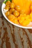 десерт тайский Foi-ремень местного названия, Ремн-Yip и med-Kanoon Стоковые Фото