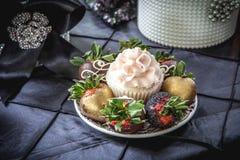 десерт шикарный Стоковое Изображение