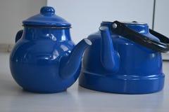 Если чайник хорош, то чай был бы славен Стоковое Фото
