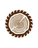 лесопилка Стоковое Изображение