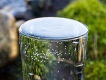 Естественная вода в стекле стоковое изображение rf