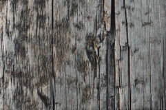 Естественная выдержанная доска серого Taupe Tan деревянная, треснутая загубленная текстура Sepia крупной нарезки деревянная, боль Стоковые Изображения RF