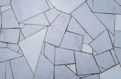 Естественная голубая текстура керамических плиток мостоваой для пола, стены или p Стоковое Фото