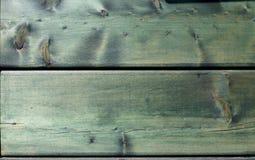 Естественная деревянная зеленая текстура предпосылки Стоковое Изображение RF