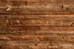 Естественная деревянная планка Стоковые Фотографии RF