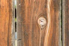 Естественная деревянная текстура планки Стоковая Фотография