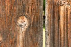 Естественная деревянная текстура планки Стоковые Фотографии RF