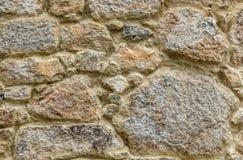 Естественная желтая текстура камня мостоваой для пола, стены или пути Стоковые Изображения