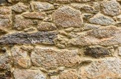 Естественная желтая текстура камня мостоваой для пола, стены или пути Стоковое Изображение