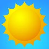 Естественная иллюстрация с солнцем Лето, хорошая погода, природа scen бесплатная иллюстрация